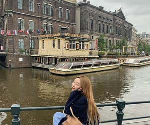 amsterdam, canal, and canals image