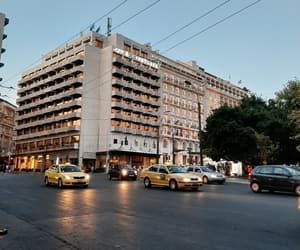 Athens, cars, and Greece image