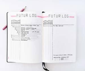 future log, bujo, and bullet journal image