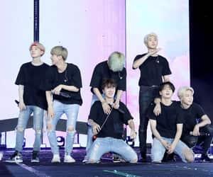 concert, rm, and kim taehyung image