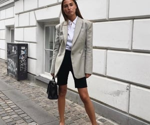 fashion, office, and girl image