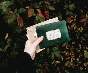 green, aesthetic, and letters image