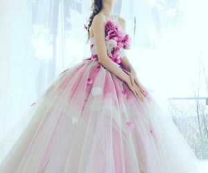 ball, ballgown, and beauty image
