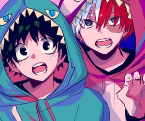 deku and todoroki image