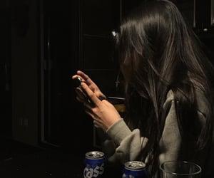 girl, dark, and aesthetic image
