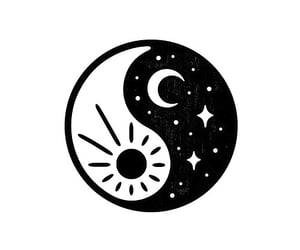 black, love, and moon image