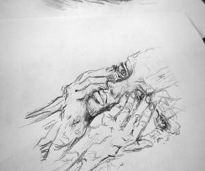 art, bipolar, and drawing image