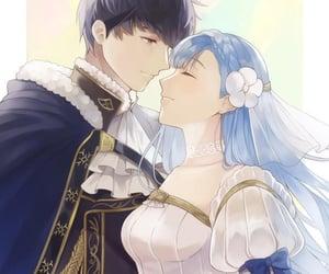 anime, girl, and love image