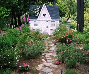 cottage, garden, and aesthetic image