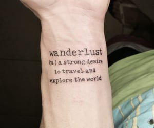beautiful tattoo, quote, and quotes image