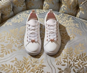 pink, trainers, and ted baker image