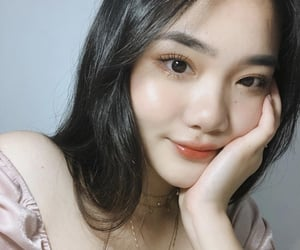 asian, beauty, and eyelids image