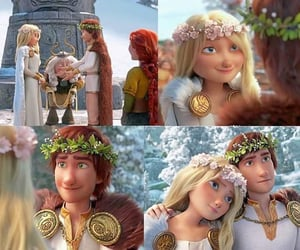 animation, astrid, and movies image