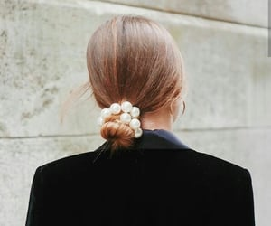 fashion, chic, and hair image