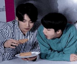 gif, jeon jungkook, and bts eat image