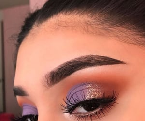 makeup, eyes, and make image