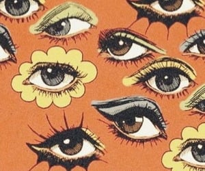wallpaper, aesthetic, and eyes image