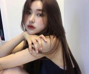 asian, girl, and kfashion image