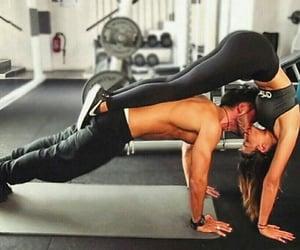 amor, gym, and couples image
