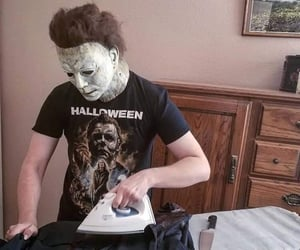Halloween, horror, and movies image