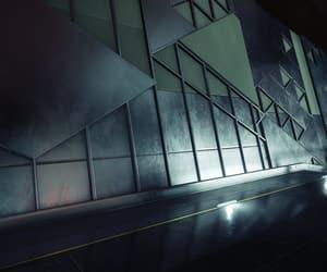hallway, metal, and design image