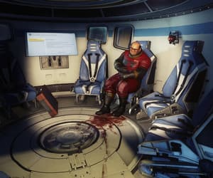 cook, sci-fi, and seats image