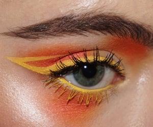 eyelashes, eyes, and eyeshadow image