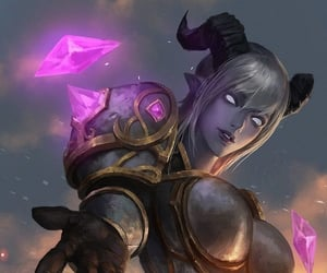draenei, fan art, and game image