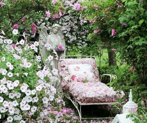 aesthetic, garden, and vintage image