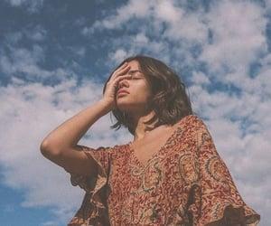 girl, photography, and sky image