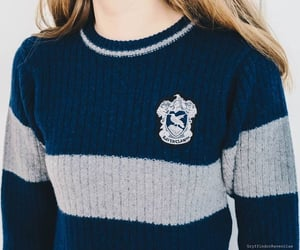 blue, grey, and pullover image