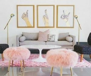 interior design, living room, and style image