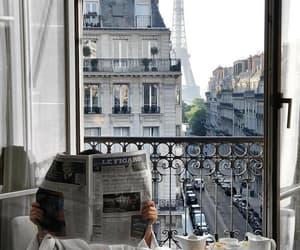 paris, breakfast, and travel image