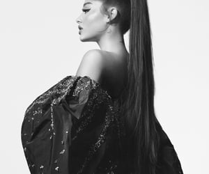 ariana grande, Givenchy, and black and white image