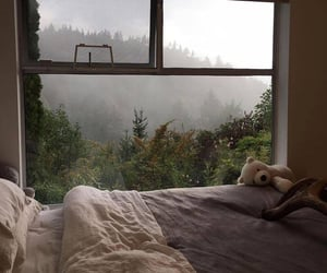 home, bed, and nature image