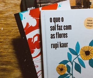 books, portuguese, and girassol image