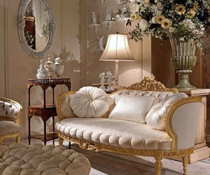 luxury, interior, and flowers image