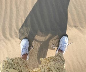 H&M, sand, and cute image