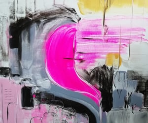 Abstract Painting, cindy geraert, and artist image