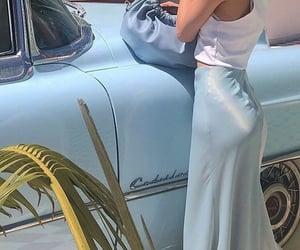 blue, fashion, and aesthetic image
