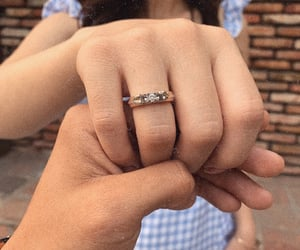 married, i said yes, and ring image