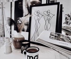 art, coffee, and decor image