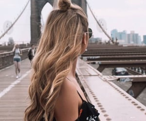 hair, bridge, and hairstyle image