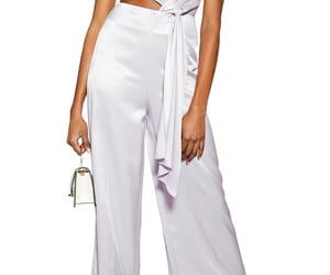 fashion, jumpsuit, and lilac image