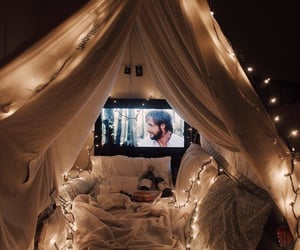 home, cozy, and date image