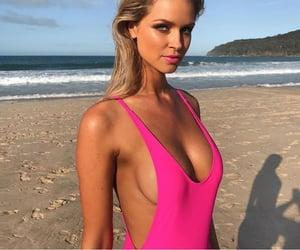 beach, fashion, and makeup image