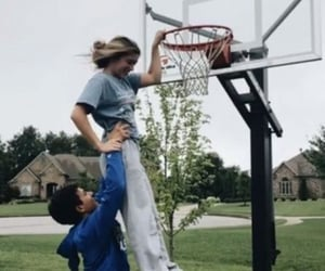 Basketball, Best, and cute couple image