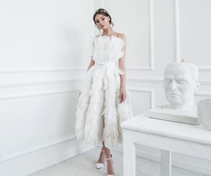 beauty, totalwhite, and dress image