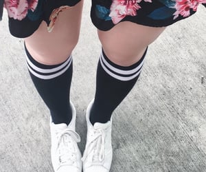 aesthetics, flowers, and hotpants image