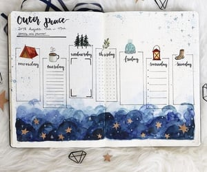 journal, school, and bullet journal image